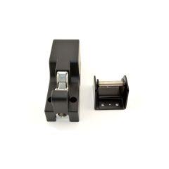 Metric Top Notch Distributors Securitron HEB-3BKM-12 HEADER Extension 3 x 3 x 12 Black