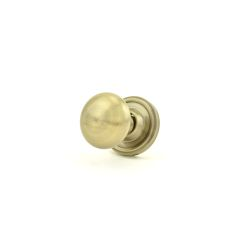 Weslock 00600ZNZNSL20 Savannah Knob Satin Nickel