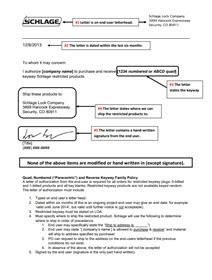 Schlage Authorization
