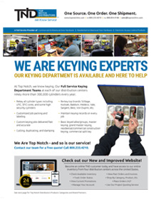 TND Keying Services Sell Sheet